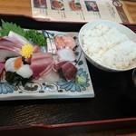 丸己 - 2017 7/1 お造り定食