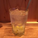 博多うどん×すだち餃子 大衆酒場博多どんたく - どんたく特製レモンサワー