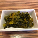 旭屋 - セットの高菜