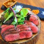 食堂 728 - 料理写真:イチボ炭焼き