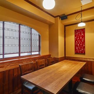 接待・会食にふさわしい完全個室