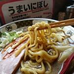 すごい煮干ラーメン凪 - 手揉み低加水太麺