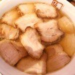 喜多方ラーメン坂内 - 焼豚ラーメン:940円