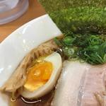 麺処ろくめい - 穂先メンマ、味玉