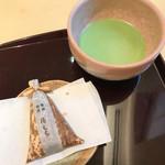 茶のちもと - 湯もち&お抹茶