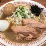 煮干中華そば専門 煮干丸 - 煮干しそば(中)with味玉