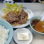 こうらん - 生姜焼き定食