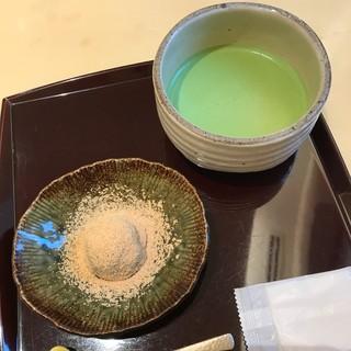 茶のちもと - わらび餅&お抹茶