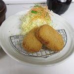 食いしんぼアイワ - 特選三田牛コロッケ  単品 380円  セット 600円