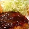 レストランヒラノ - 料理写真:ハンバーグ カニクリームコロッケ盛合せ