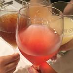 ラ・パスタイオーネ - 我が家の乾杯