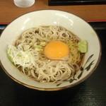 そばよし - 冷やし月見(350円)