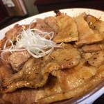 とんたん - 豚丼(竹) 半々