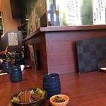 たちじゅう園 - たちじゅう園(その)(大阪府大阪市阿倍野区松崎町)店内カウンター席