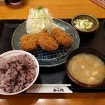 かつ徳 - ヒレカツランチ(1059円)