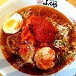 別府手ごね冷麺 ふくや - 冷麺(大盛り8辛):680円