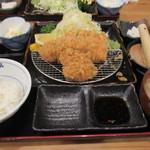 69429945 - ロースミックス定食