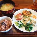 GAIA 食堂 - 玄米ランチプレート(1000円)