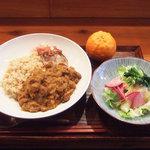 GAIA 食堂 - Vegeカレーセット(1000円)