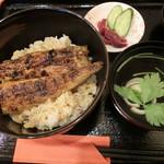 川合うなぎ店 - 料理写真:うな丼(ウナギハーフ丼)1,500円