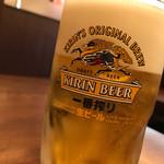 慶錦閣 - ドリンク写真:生ビール