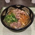ふるいち庵 - 百肉うどん(汁タイプ)