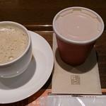 上島珈琲店 - コーヒーと今日のスープ(かぼちゃ)