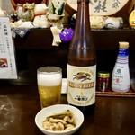 二本松 - [2017/06]瓶ビール大(680円)