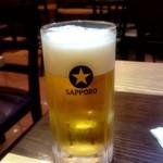 劉の店 - 生ビール:540円