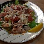 割烹 くにべ - 海鮮のカルパッチョ780円