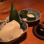 うろん江口 - おぼろ豆腐