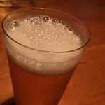 うろん江口 - 薄い呑み口のグラス