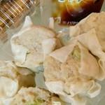 浜鶏 - 枝豆シウマイ みっちりの中に初夏の彩り