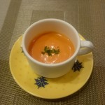 小川軒 - トマトの冷製ポタージュ