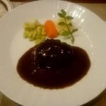 小川軒 - ハンバーグステーキ