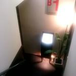 小川軒 - 地下へ下りる階段