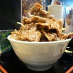 特選大衆焼肉 脂屋肉八 - ブッチャー丼(ヘビー級)1,080円