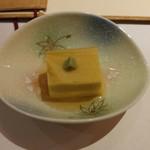 69440767 - お通しのトウモロコシ豆腐
