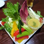 69441740 - 旬野菜のバーニャカウダ¥1150