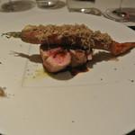 リストランテ カノフィーロ - 三元豚フィレ肉と人参のアロースト サマートリュフ