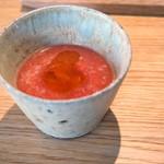 ラピ - スイカの冷製スープ