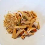ラピ - 剣先イカ、野菜のカヴァテッリ