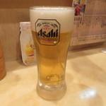 串かつ 太郎 - 生ビール