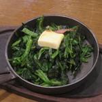 元祖 参佰宴 - 料理写真:ほうれん草バター