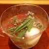 Kaisekiryourikishiyoshi - 料理写真:先付 鮑とトマトの冷し鉢