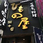 川崎銀柳街のひもの屋 - ひもの屋