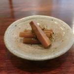 山勢 - 山菜と山椒の煮物