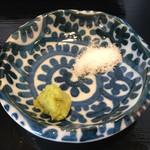 うどん 寿製麺 - 塩とわさび