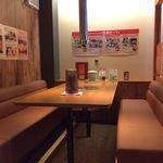 Umekisanchinodaidokoro - H.29.6.19.昼 内観:1F奥テーブル席