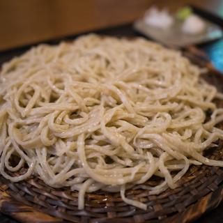 そば遊歩 - 料理写真:粗挽き蕎麦